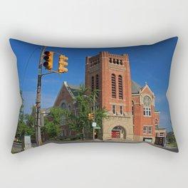Ashland Avenue Baptist Church I Rectangular Pillow