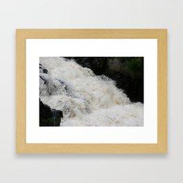 Waterfall 2 Framed Art Print