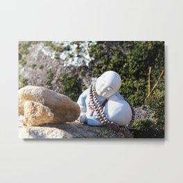 Sleeping Buddha Metal Print