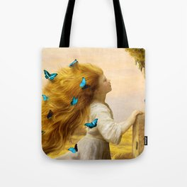 Unfurling Glory Tote Bag