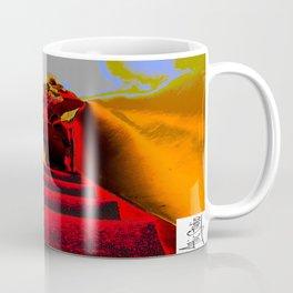 Attic Studio; Fire Escapade Coffee Mug