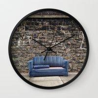 sofa Wall Clocks featuring sofa free by danielle marie