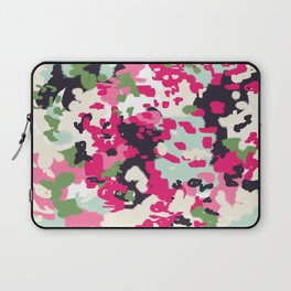 Cass - abstract minimal painting customized home decor original art by charlotte winter Laptop Sleeve