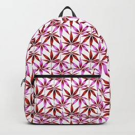 WEED LOVE, PINK WINE Cannabis Smoke Marijuana Backpack