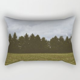 Forest Layers Rectangular Pillow