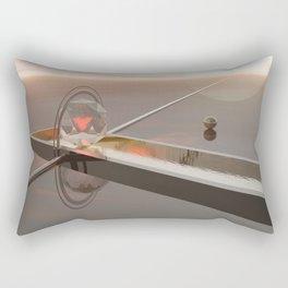 Saturnian pool Rectangular Pillow
