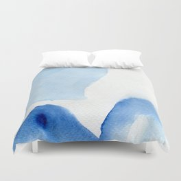 In search of blue Duvet Cover