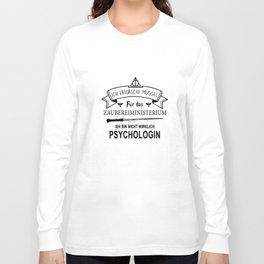 ich erforsche muggel fur das zaubereiministrerium ich bun nicht wirklich psychologin dutch t-shirts Long Sleeve T-shirt