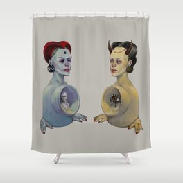 Inner Spaces Shower Curtain