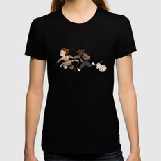 sw3 Black Womens Fitted Tee SMALL