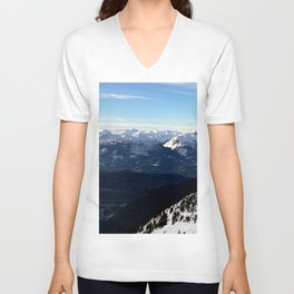 Crispy light air up here Unisex V-Neck
