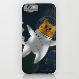 Cats in space. iPhone Case