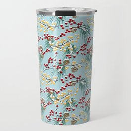 Winterberries Travel Mug