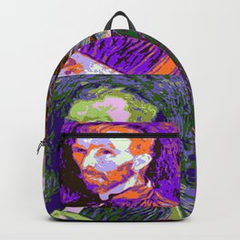 Vincent van Gogh Pop Art Backpack