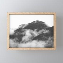 Foggy Mountain Framed Mini Art Print