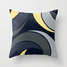 Midnight in Africa Throw Pillow