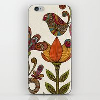 garden iPhone & iPod Skins featuring In the garden by Valentina Harper