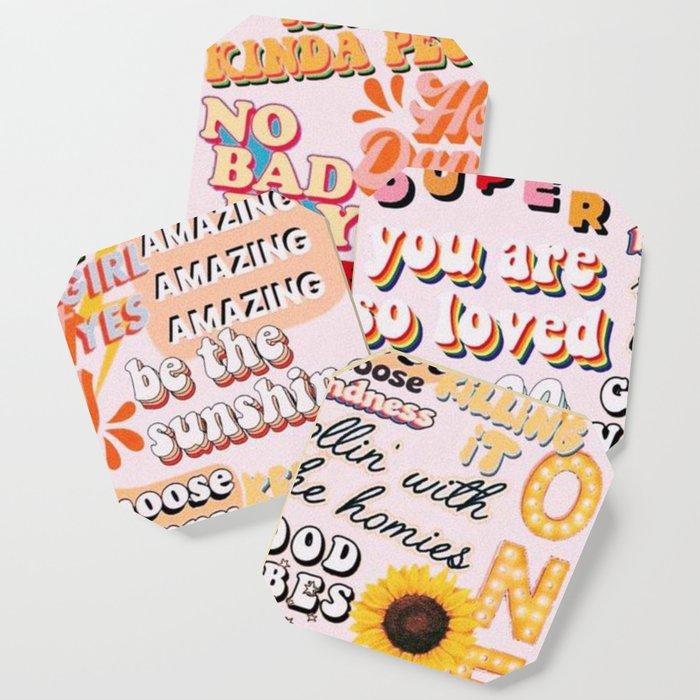 Orange Mood Coaster
