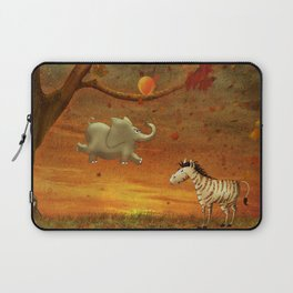 Animals in the Forest Laptop Sleeve