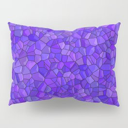 Sapphires and Amethysts Pillow Sham