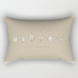 Evolution of Paper Crane Rectangular Pillow