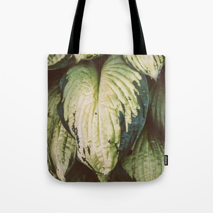 Natural Leaves Pattern Tote Bag