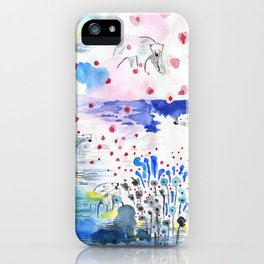 They lived lives no one had dreamt of iPhone Case