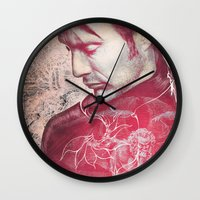 hannibal Wall Clocks featuring Hannibal by András Récze