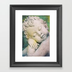 Sleeping Angel Framed Art Print
