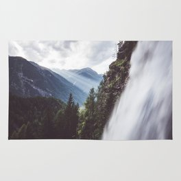 Behind Stuibenfall - Landscape and Nature Photography Rug