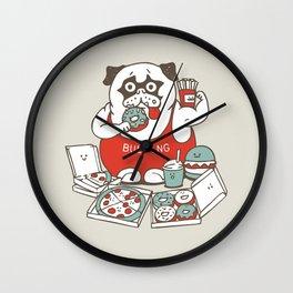 BULKING SEASON Wall Clock