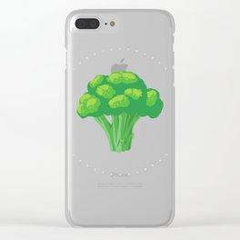 Broccoli Clear iPhone Case