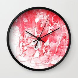 Love Is Red Wall Clock