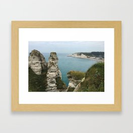 Etretat, France Framed Art Print