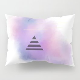 Space Triangle Pillow Sham