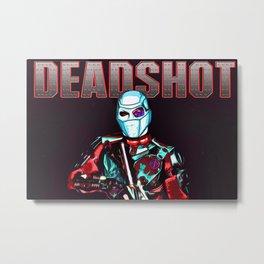Deadshot Metal Print