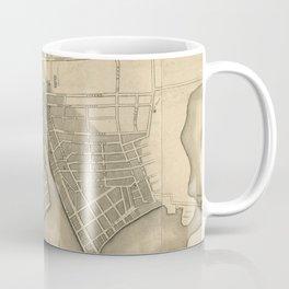 Vintage Map of Providence Rhode Island (1823) Coffee Mug