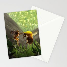 Faerie and Bee Stationery Cards