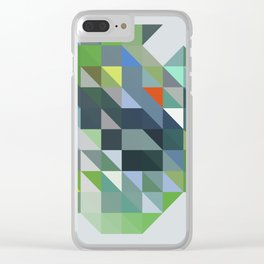 Triangulation 01 Clear iPhone Case
