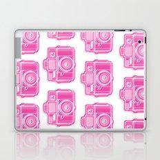 I Still Shoot Film Holga Logo - Pink Laptop & iPad Skin