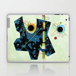 Retro Atomic factory cosmic splender Laptop & iPad Skin