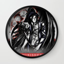 Wings of Faith : Punisher Wall Clock