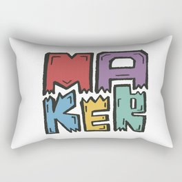 Maker Rectangular Pillow