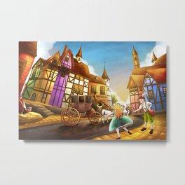 The Bavarian Village Metal Print