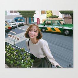 Harajuku street Canvas Print
