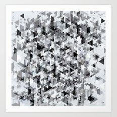 Marble madness Art Print