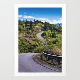 The Road To Greatness Kauai Hawaii Art Print