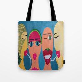 Fruit Ninjas Tote Bag