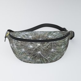 Spinning dandelion puff Fanny Pack