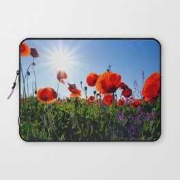 Poppy Field Laptop Sleeve